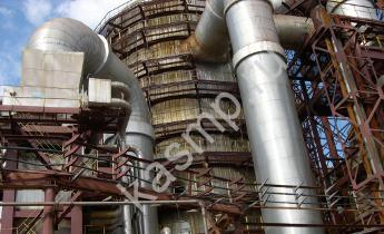 Клапаны запорные на газоходах дымовых г